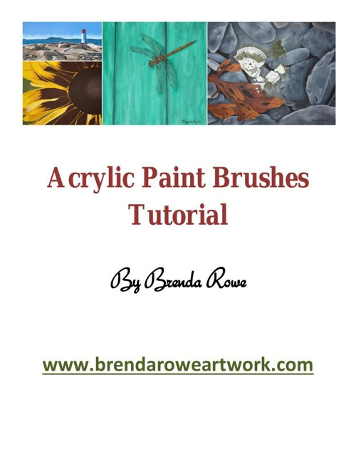 Brushes Tutorial