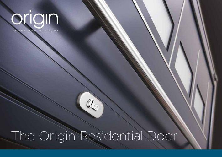 Origin Residential Door Brochure