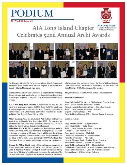 AIA Long Island, Podium 51
