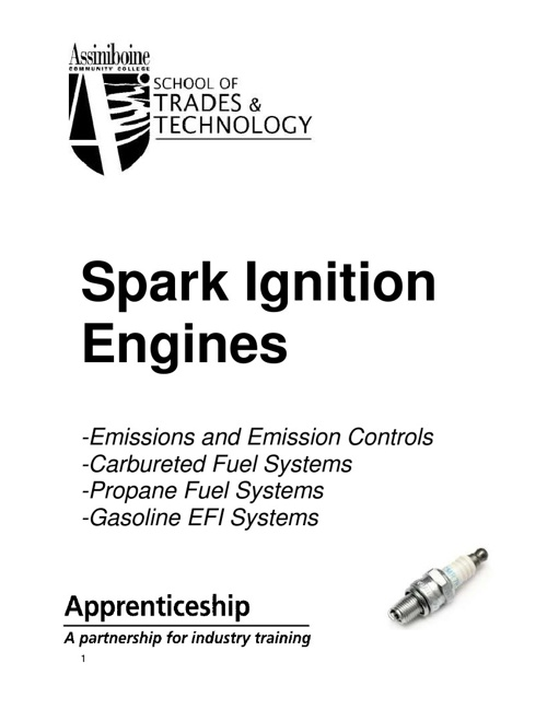 Spark Ignition Workbook