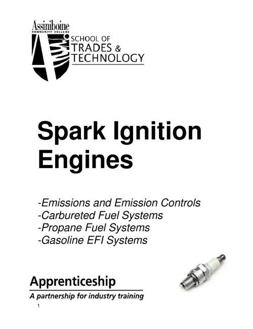 Spark Ignition Workbook