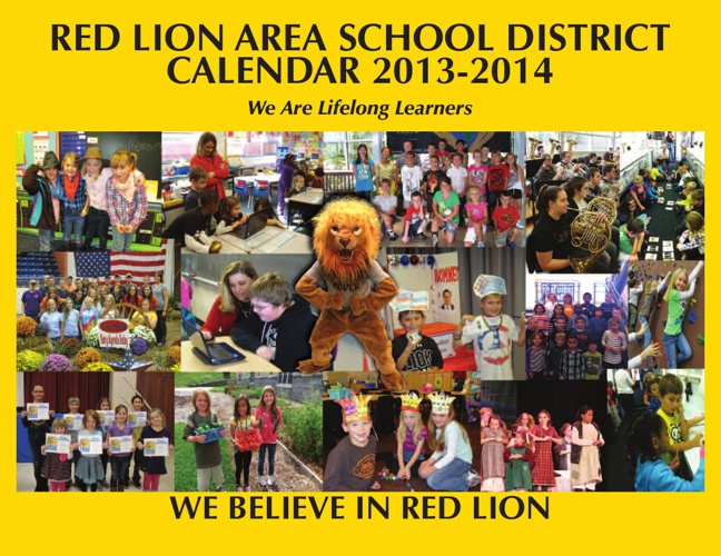 2013 2014 School Year Community Calendar