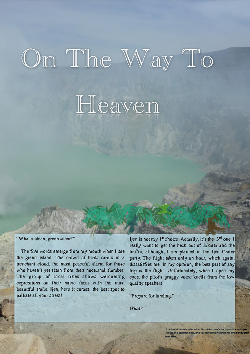 Travel Article Ijen Crater