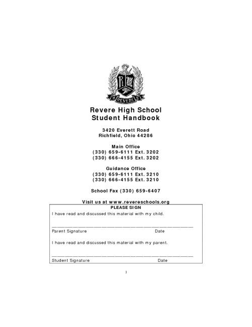 RHS Handbook