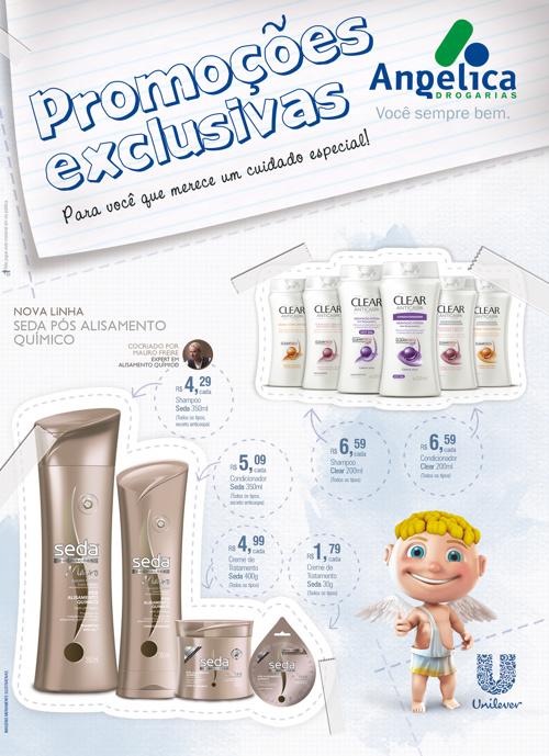 Promoções Exclusivas - Unilever | Drogarias Angélica