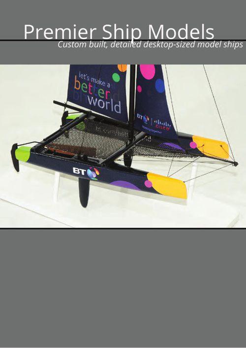 Desktop Sized Model Ships