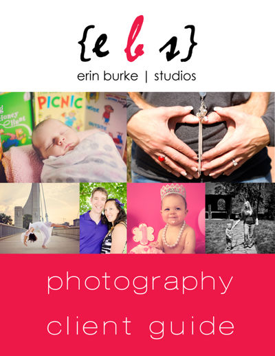 Erin Burke Studios Photography Client Guide