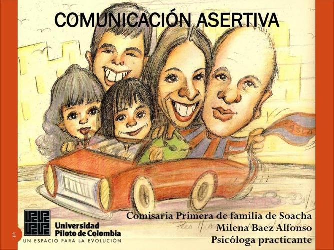 Cartilla, Comunicación asertiva.