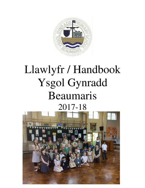 Beaumaris School Handbook 2017