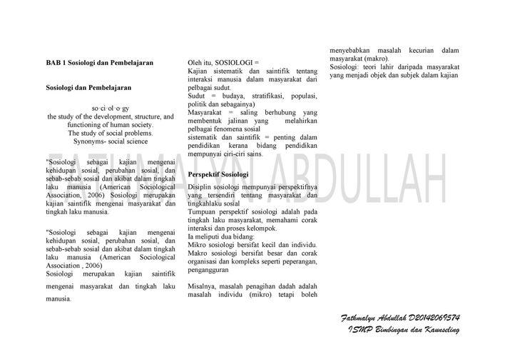 KPS 3014 : Pengurusan Pembelajaran