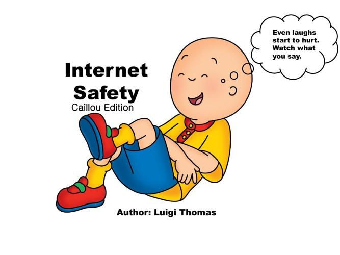 Internet Safety Childrens Book