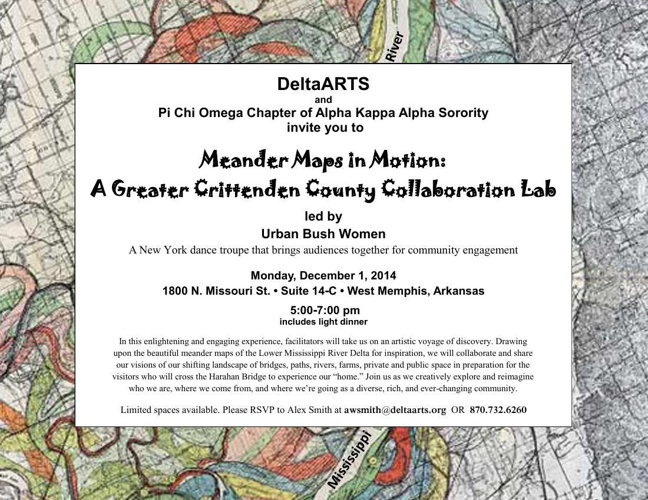 Meander Maps in Motion