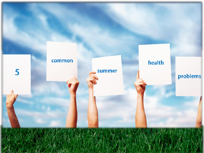 Guide on 5 common summer health problems