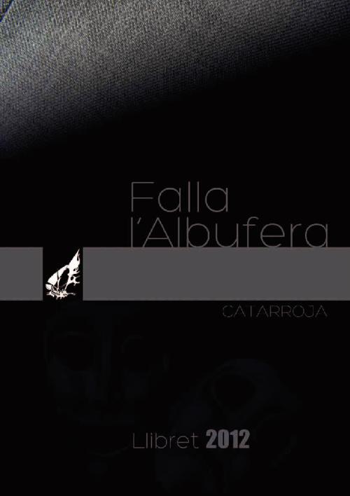LLIBRET FALLA L'ALBUFERA CATARROJA 2011