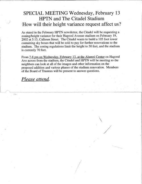 HPT Newsletter February-2 2002
