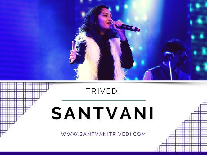 Santvani Trivedi Singer (genres like bollywood film songs.