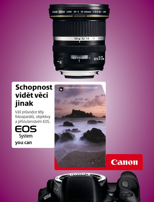 Canon EOS System - Přehled objektivů, těl a příslušenství