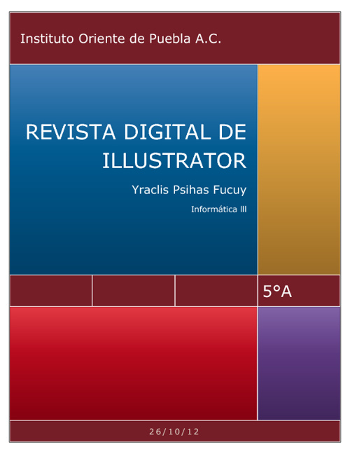 Revista digital de illustrator