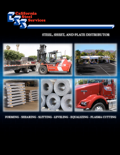California Steel Services Brochures