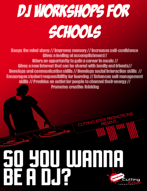 DJ Workshops for Schools