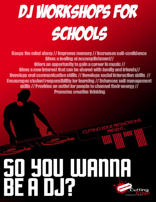 DJ Workshops for Schools