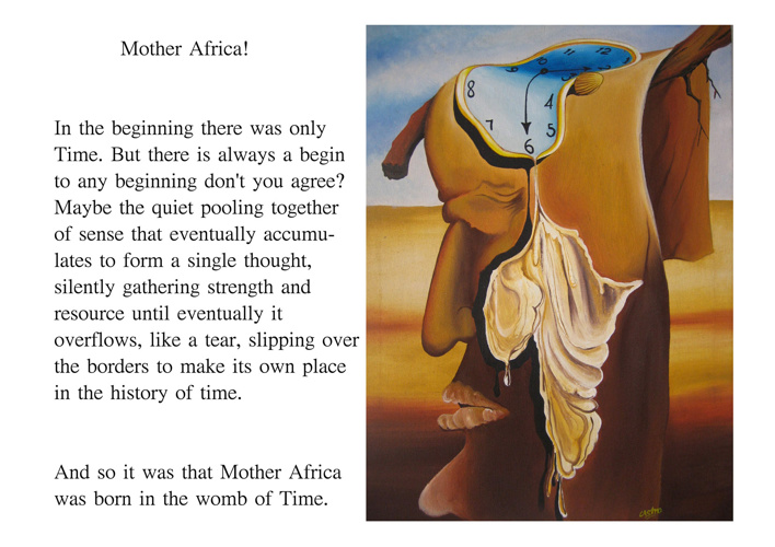 Mother Dear ~ a personalised story to paintings by Castro