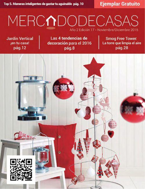 Revista Mercado de Casas Noviembre Diciembre 2015 Edición 17