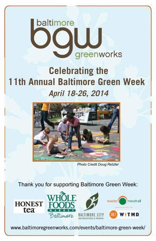 11th Baltimore Green Week Program Guide