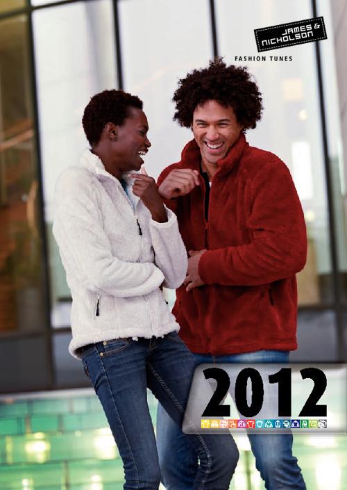 James&Nicholson promóciós textilkatalógus 2012