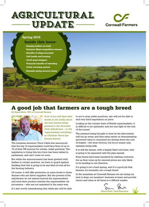 Agricultural Update_Spring 2015