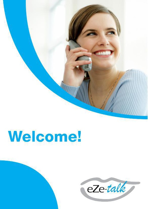 Copy of eZe-Talk Welcome Pack