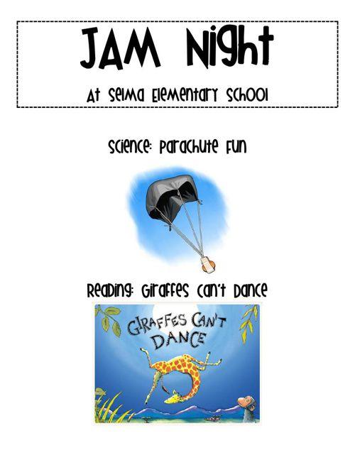 JAM Night: Parachutes and Pizza