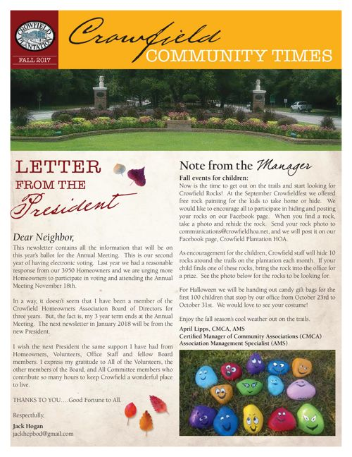 Copy of Final Newsletter Fall 2017