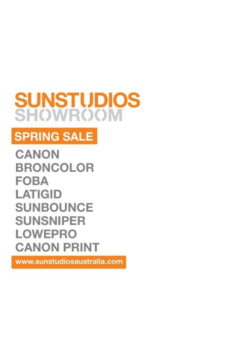 Sun Studios Spring Sale
