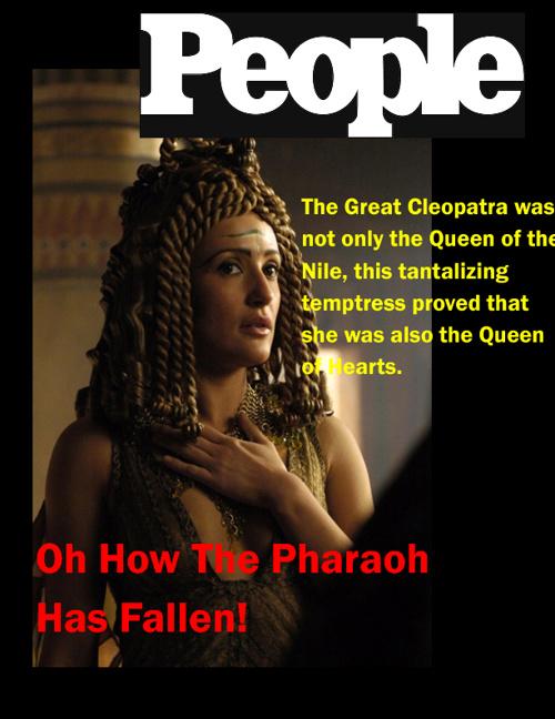 Oh How the Pharaoh Has Fallen!