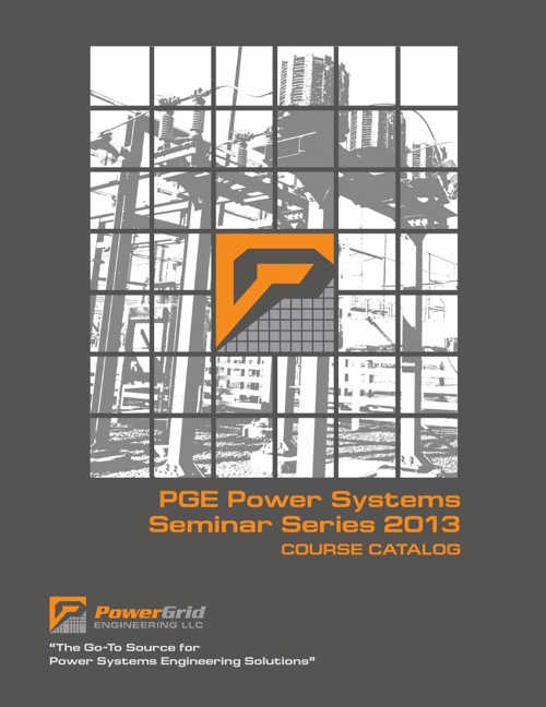 PGE Power Systems Series 2013