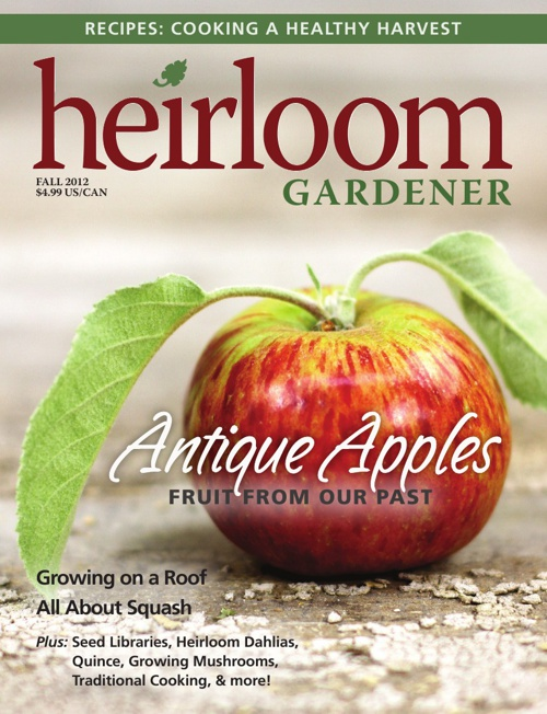 Heirloom Gardener - Fall 2012