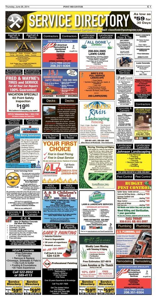 6-26-14 Post Register