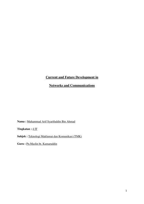 Kerja Kursus ICT Bab 3