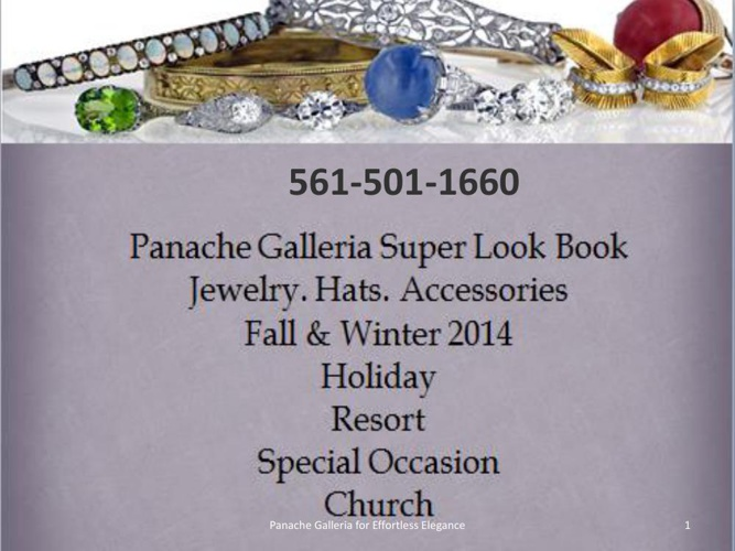 Panache Galleria Look Book Holiday 2014