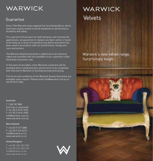 Warwick Velvets