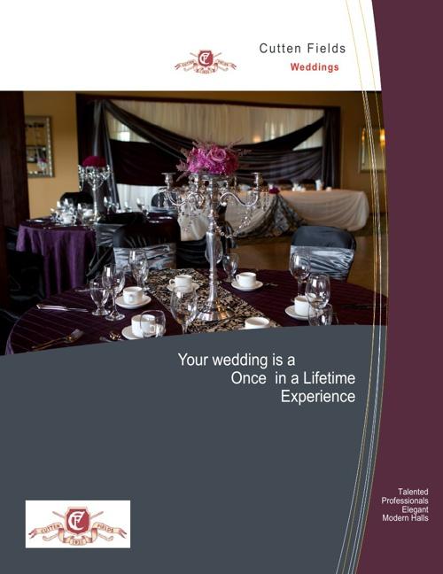 Cutten Fields Wedding Brochure