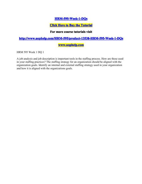 HRM-595-Week-1-DQs