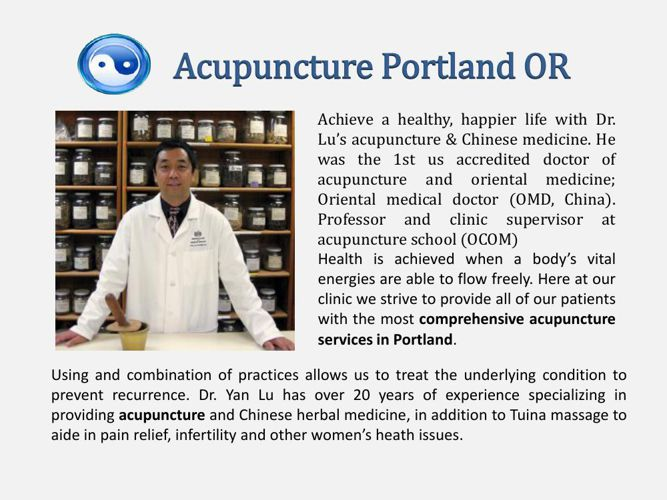 Acupuncture Portland OR