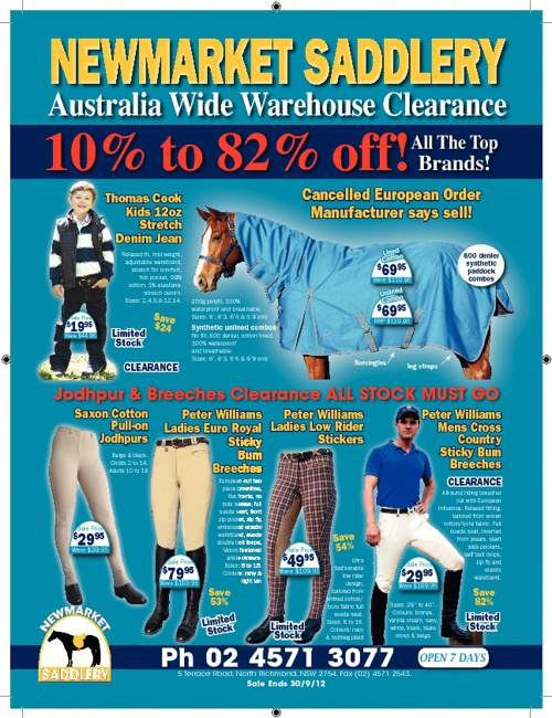 July Clearance Catalogue
