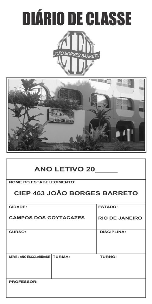 Diário CIEP JOÃO BORGES BARRETO