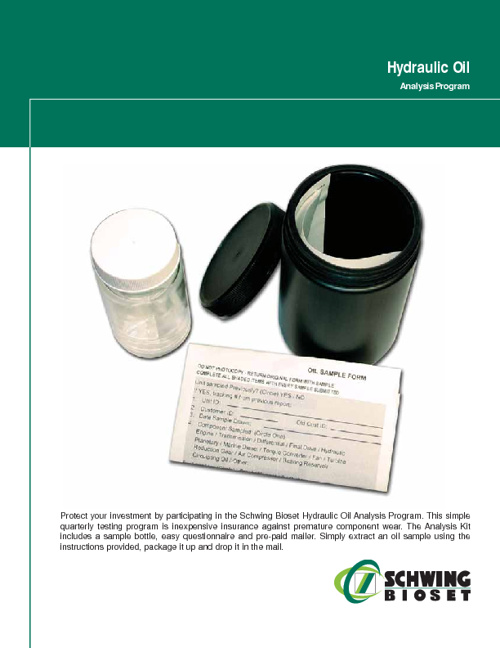 Hydraulic Oil Analysis
