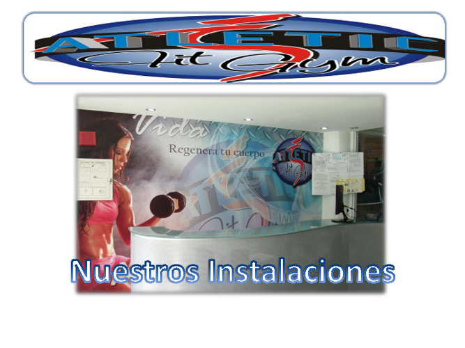 Copy of Instalacionesdel gimnasio Atletic Fit Gym