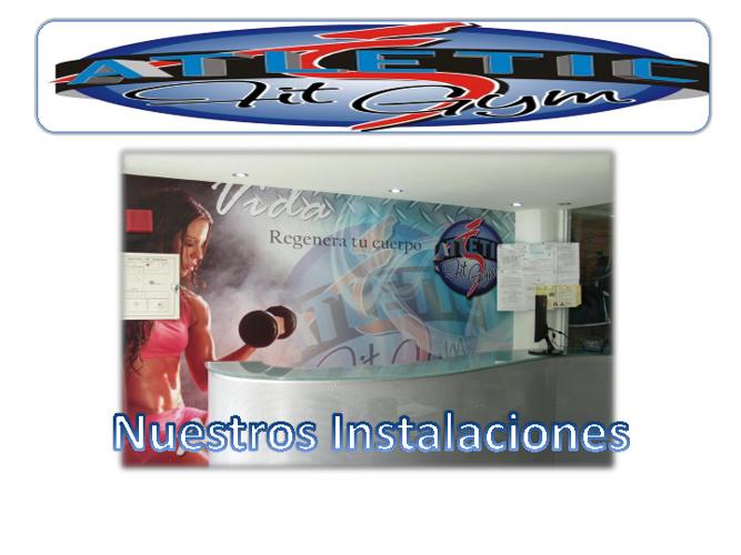 Copy of Instalacionesdel gimnasio Atletic Fit Gym