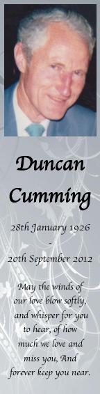 Duncan Cumming